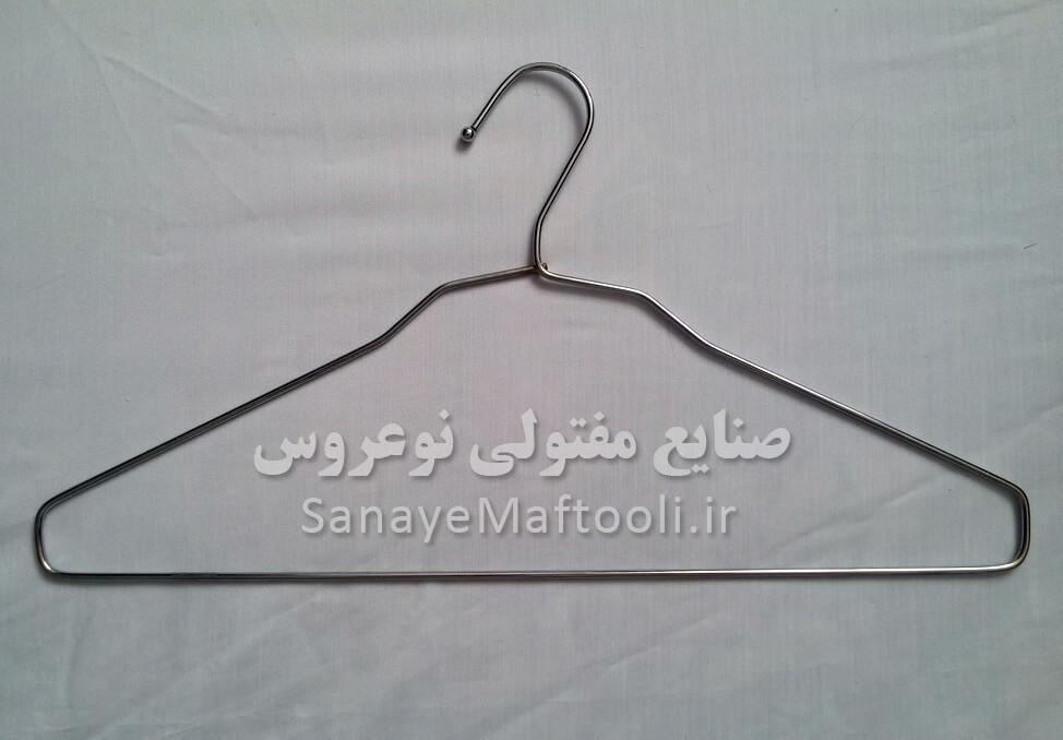 آویز لباس آویز کت ساده فلزی نوعروس