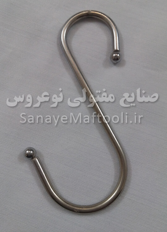آویز لیوان آشپزخانه فلزی نوعروس