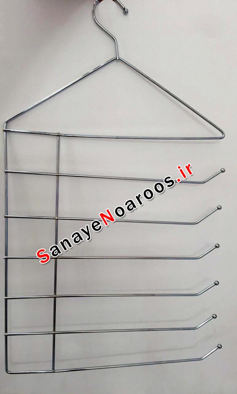 آویز روسری شال آویز شلوار فلزی